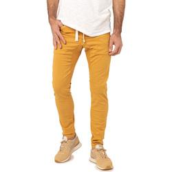 Vêtements Homme Chinos / Carrots Pullin Pantalon  DENING EPIC 2 RUBBER JAUNE