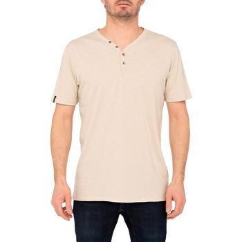 Vêtements Homme T-shirts & Polos Pullin T-shirt  BOUTONNE SAND BEIGE