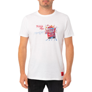 Vêtements Homme T-shirts & Polos Pullin T-shirt  FRENCHALPS BLANC