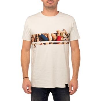 Vêtements Homme T-shirts manches courtes Pullin T-shirt  LINEBOUCHO GRIS