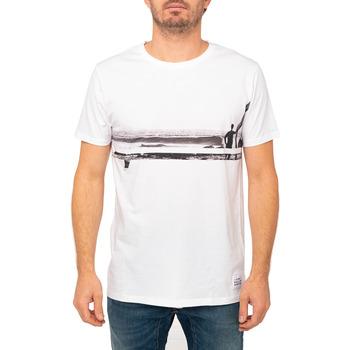 Vêtements Homme T-shirts & Polos Pullin T-shirt  LINESURF BLANC