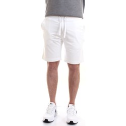 Vêtements Homme Shorts / Bermudas Aeronautica Militare 211BE030F424 Bermudes homme blanc blanc