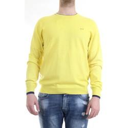 Vêtements Homme Pulls Sun68 K40105 pull-over homme Jaune Jaune