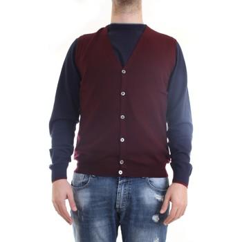 Vêtements Homme Gilets / Cardigans Gran Sasso 58182/14296 Gilet homme Bourgogne Bourgogne