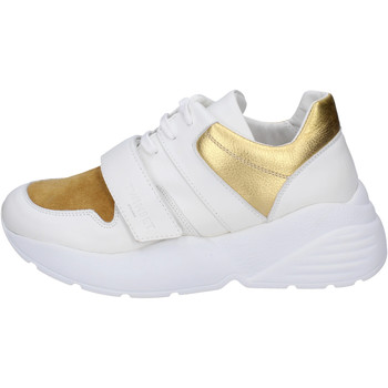 Chaussures Femme Baskets basses Twin Set Sneakers Cuir Blanc