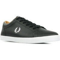 Chaussures Homme Baskets basses Fred Perry Baseline Leather noir