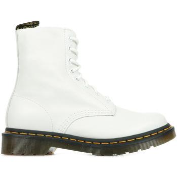 Chaussures Femme Boots Dr Martens 1460 Pascal blanc