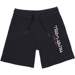 Vêtements Garçon Shorts / Bermudas Teddy Smith Short garçon taille élastique Bleu