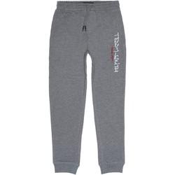 Vêtements Garçon Pantalons de survêtement Teddy Smith Jogging garçon taille élastique Gris