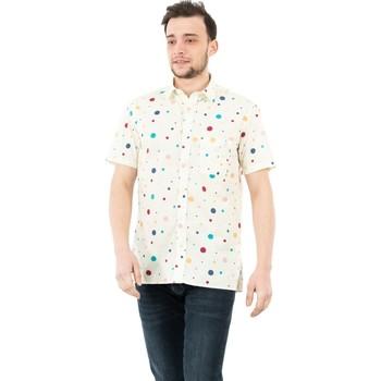 Vêtements Homme Chemises manches courtes Serge Blanco serge o chc2761b 889 multicolore beige