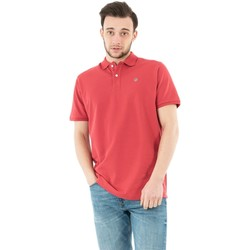 Vêtements Homme Polos manches courtes Serge Blanco serge o prc1164a 420 framboise rose
