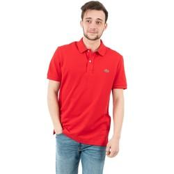 Vêtements Homme Polos manches courtes Lacoste ph4012 240 rouge