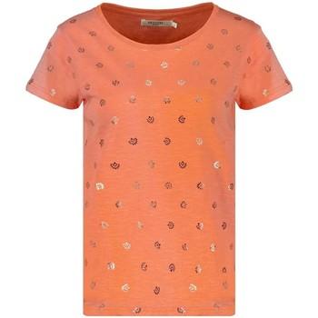 Vêtements Femme T-shirts manches courtes Deeluxe T-Shirt MAYA Clementine