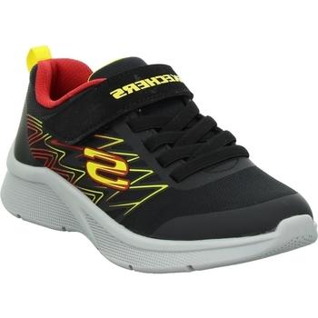 Chaussures Enfant Baskets basses Skechers Microspec Texlor Noir