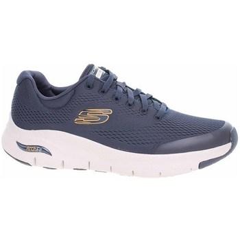 Chaussures Homme Baskets basses Skechers Arch Fit Bleu