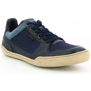 Chaussures Homme Baskets basses Kickers Jungle MARINE
