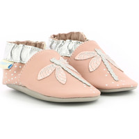 Chaussures Fille Chaussons bébés Robeez Shinydragonfly ROSE