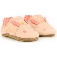 Chaussures Fille Chaussons bébés Robeez Kind Rabbit ROSE CLAIR