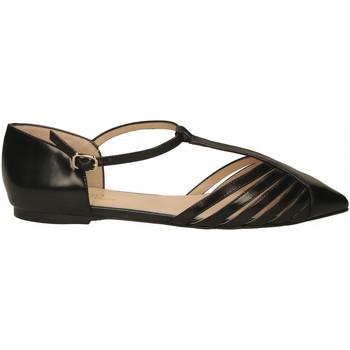 Chaussures Femme Ballerines / babies Il Borgo Firenze ABRASIVATO nero