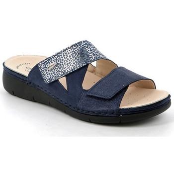 Chaussures Femme Mules Grunland CIABATTA GRÜNLAND - LACA 0750 BLEU bleu