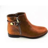 Chaussures Femme Bottines Cink-me DM32-1C CAMEL BRONZE