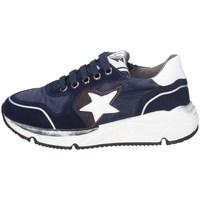 Chaussures Garçon Baskets basses Asso AG-8704 BLEU