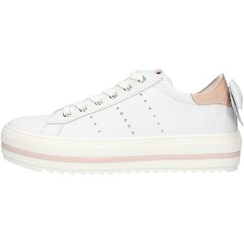 Chaussures Fille Baskets basses NeroGiardini E031570F blanc