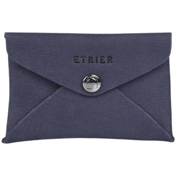 Sacs Homme Porte-Documents / Serviettes Etrier Porte-cartes cuir Z.EMBALLAGES 080-00EENV01 MARINE