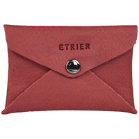 Sacs Homme Porte-Documents / Serviettes Etrier Porte-cartes cuir Z.EMBALLAGES 080-00EENV01 CERISE