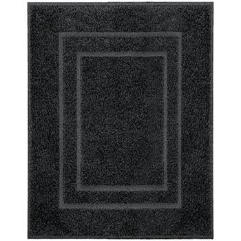 Maison & Déco Tapis Kleine Wolke Tapis de bain Noir
