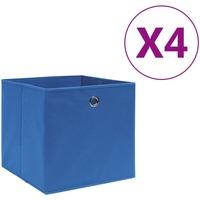 Maison & Déco Paniers, boites et corbeilles Vidaxl Boîte de rangement Bleu