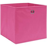 Maison & Déco Paniers, boites et corbeilles Vidaxl Boîte de rangement Rose