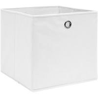 Maison & Déco Paniers, boites et corbeilles Vidaxl Boîte de rangement Blanc