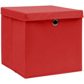 Maison & Déco Paniers, boites et corbeilles Vidaxl Boîte de rangement Rouge