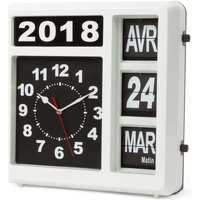 Maison & Déco Horloges Perel Horloge murale Blanc