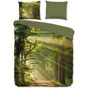 Maison & Déco Housses de couettes Good Morning 240x 220 cm Vert