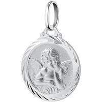 Montres & Bijoux Pendentifs Cleor Médaille  en Argent 925/1000 Blanc