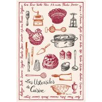 Maison & Déco Torchons Winkler Torchon ustensiles de cuisine ECRU