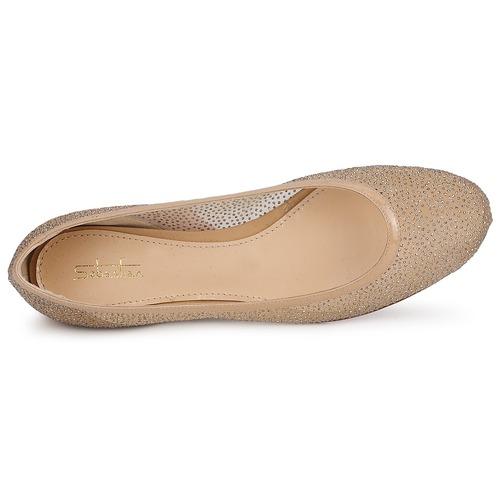 Sebastian Glime Beige - Livraison Gratuite- Chaussures Ballerines Femme 28400 QBH60