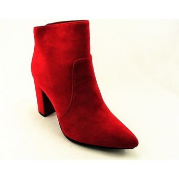 Chaussures Femme Bottines Ideal Shoes TX1802R ROUGE