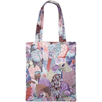 Sacs Cabas / Sacs shopping Madura Sac - JUNGLE BIRDS 35x40 cm Parme