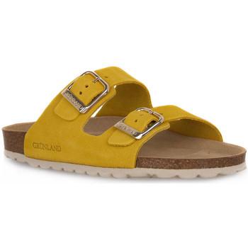 Chaussures Femme Mules Grunland GIALLO 70SARA Giallo