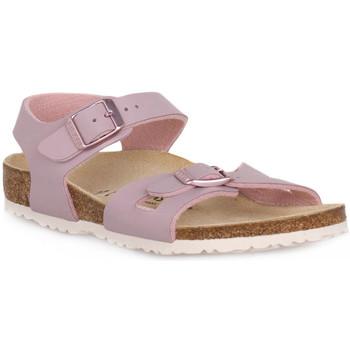 Chaussures Enfant Sandales et Nu-pieds Birkenstock RIO LAVENDER BLUSH CALZ S Grigio