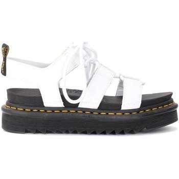 Chaussures Femme Sandales et Nu-pieds Dr Martens Sandales Nartilla en cuir blanc Blanc