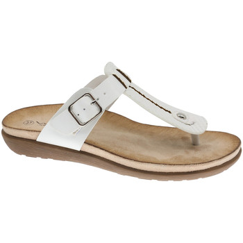 Chaussures Femme Tongs BEPPI Casual Slipper Blanc