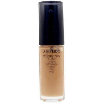 Beauté Femme Fonds de teint & Bases Shiseido Synchro Skin Glow Luminizing Fluid Foundation g5
