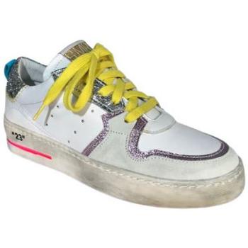 Chaussures Femme Baskets basses Semerdjian Basket Sona 5256 blanc