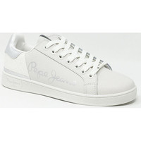 Chaussures Baskets basses Pepe jeans BROMPTON FUN Blanc