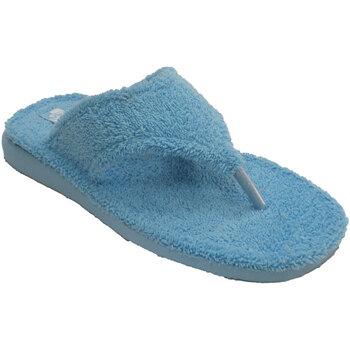 Chaussures Femme Chaussons Andinas Tongs serviettes doigt bandes végétales beige