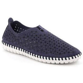 Chaussures Femme Slip ons Grunland SLIP-ON GRÜNLAND - MAGI 4913 BLEU bleu